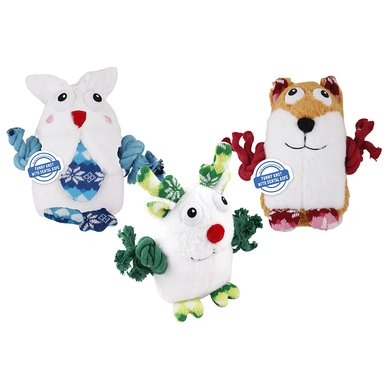 AFP Snowy & Knotty Fox 23 x 23 x 9cm