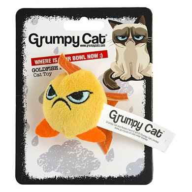 Grumpy Cat Goldfish Ball 5cm