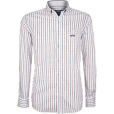 HV Polo Shirt Tymen Brown-White