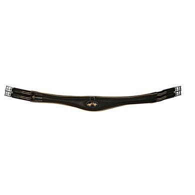 HV Polo Gurt Leder Schwarz/Silber