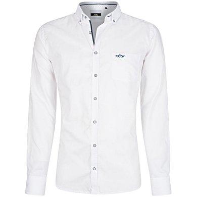 HV Polo Overhemd Andrews Optical White