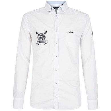 HV Polo Overhemd Becker Optical White