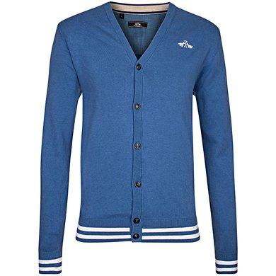 HV Polo Cardigan Nero Ink Blue
