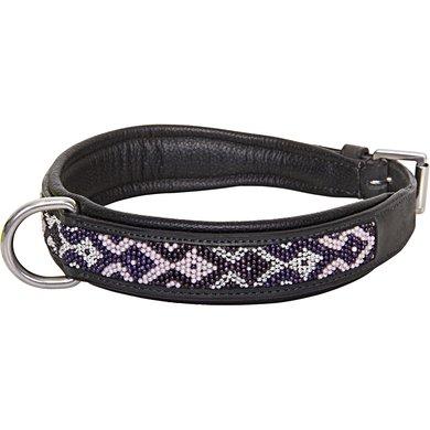 HV Polo Dog Collar Beads Black L