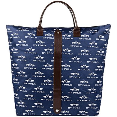 HV Polo Opvouwbare tas Carberry Navy-Optical white 1 Maat