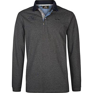HV Polo Poloshirt Davidson Graphite melange