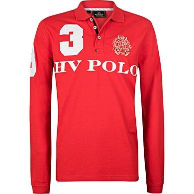 HV Polo Polo Favouritas M EQ LS Bright Red