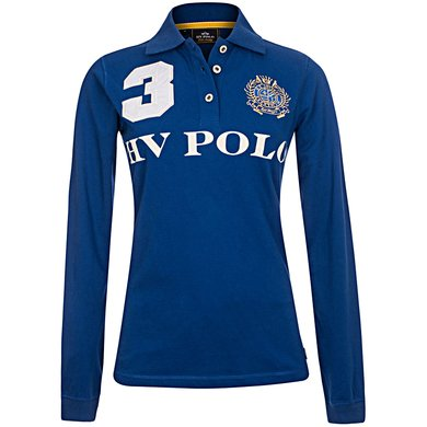 HV Polo Polo Favouritas EQ LS Royal Blue M