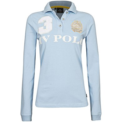 HV Polo Polo Favouritas EQ LS Soft Blue XL