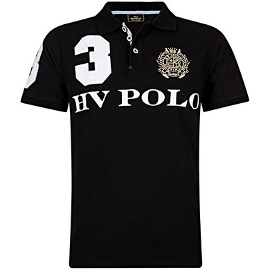 HV Polo Polo Favouritas M EQ SS Black XXL