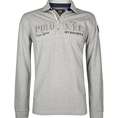 HV Polo Poloshirt Fillmore Silvergrey Melange M