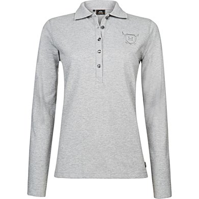 HV Polo Poloshirt Idette Silvergrey Melange XS