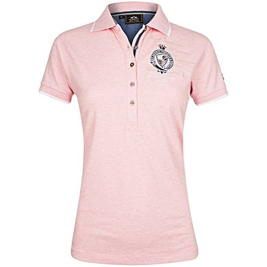HV Polo Polo Shirt Parker Blush melange