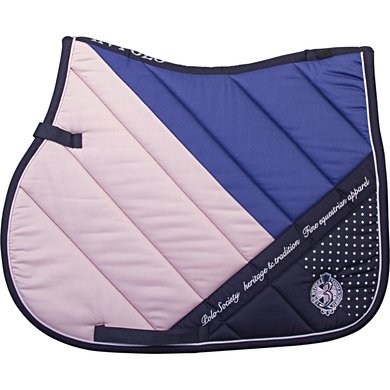 HV Polo Zadeldekje Otis GP Pink- Ink Blue Cob