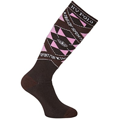 HV Polo Sokken Carry Dark Brown