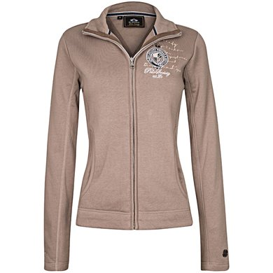 HV Polo Sweat Jacket Arela Light Taupe