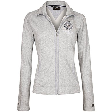 HV Polo Sweat Jacket Arela Silvergrey Melange