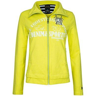 HV Polo Sweat Jacket Fardau Lime