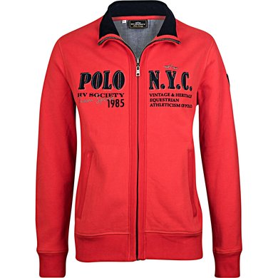HV Polo Jack Melville Bright Red