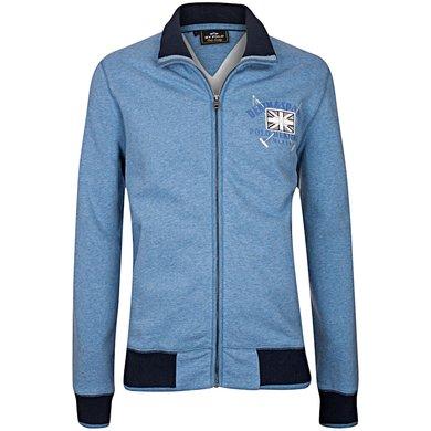 HV Polo Sweat Jacket Storm Ink Blue Melange