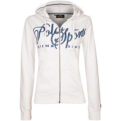 HV Polo Sweat Jacket Tami Ecru
