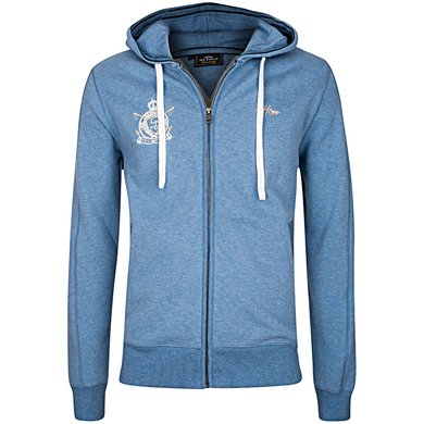 HV Polo Sweat Jacket Tate Ink Blue Melange