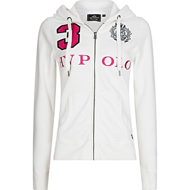 HV Polo Sweater Favouritas LTE LS Optical White