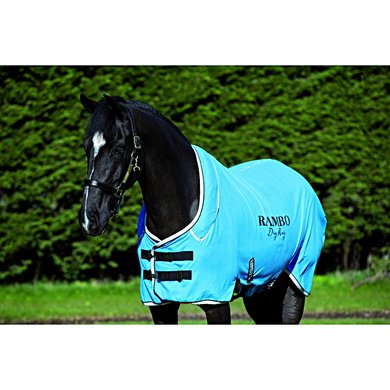 Rambo Dry Rug Blue/Black