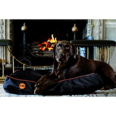 Rambo Ionic Dog Bed Black/Black