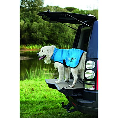 Rambo Dog Dry Rug Blue/Black