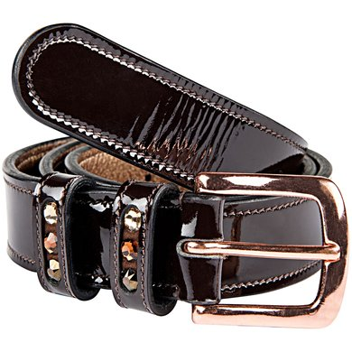 Imperial Riding Riem Durante Brown lack-Rose Gold