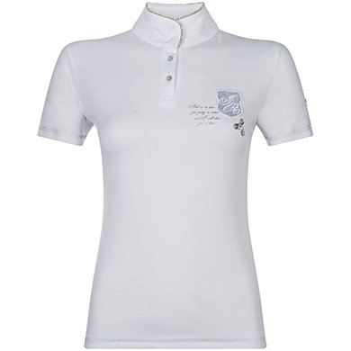 Imperial Riding Wedstrijdshirt Laroche White