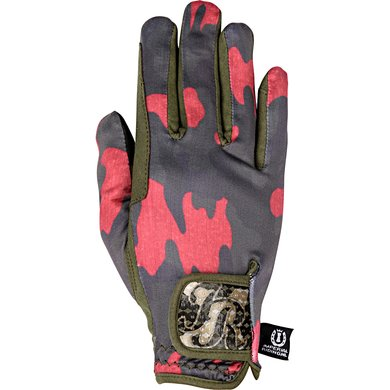 Imperial Riding Handschoenen Camouflaged Army Pink