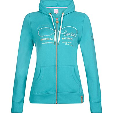 Imperial Riding Sweater Once In A Lifetime Turquoise S