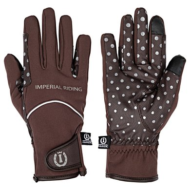 Imperial Riding Handschoenen Stay Warm Brown