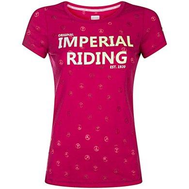 Imperial Riding T-shirt Festival Fuchsia