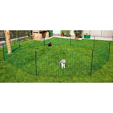 Kerbl Kaninchennetz 65 cm, Einzelspitz Grün 25m
