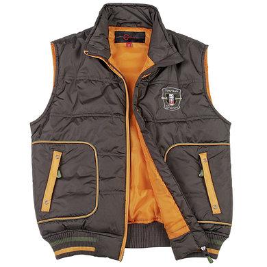 Covalliero Bodywarmer Paris Kind bruin/oranje Gr.134/140