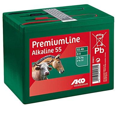 Ako Batterie Alkaline Klein Grün 55Ah-9V