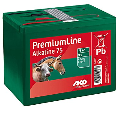 Ako Batterij Alkaline Klein 75ah 9v