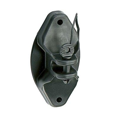 Ako Pinlock Isolator, Schwarz 25 Stück