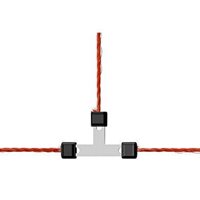 Ako Litzclip Litzen-T-Verbinder verzinkt, 5 Stück 3mm