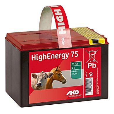 Ako High Energy Droge Batterij 9V 75Ah