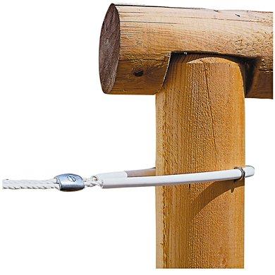Ako Schlauchisolator für 8mm-Seil Weiß 60cm