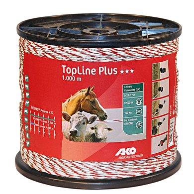 Ako Topline Plus Wit/rood Draad 1000mtr