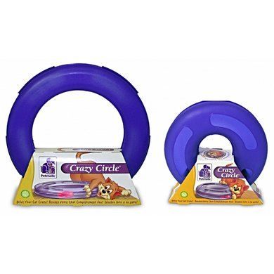 Petmate Cattoy Crazy Circle Paars S/25x25x8cm