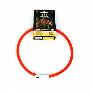 Duvo+ Ring Flash Licht Usb Silicon Rood 70cm