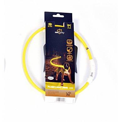 Duvo+ Ring Flash Licht Usb Nylon Geel
