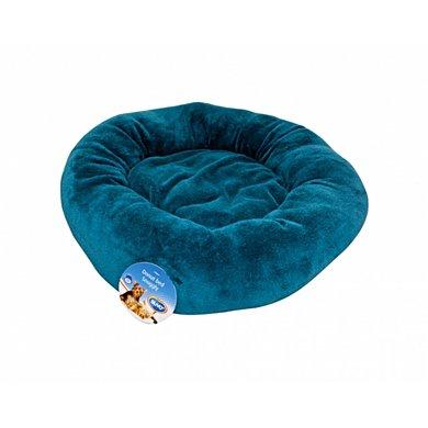 Duvo+ Donut Bed Snuggly Blauw 50cm