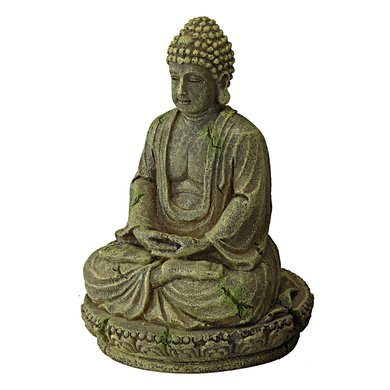 Aqua Della Aquarium Ornament Bayon Buddha 9.5x8x12cm